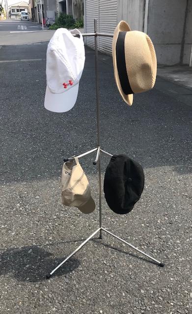 自社オリジナル インテリア帽子掛け